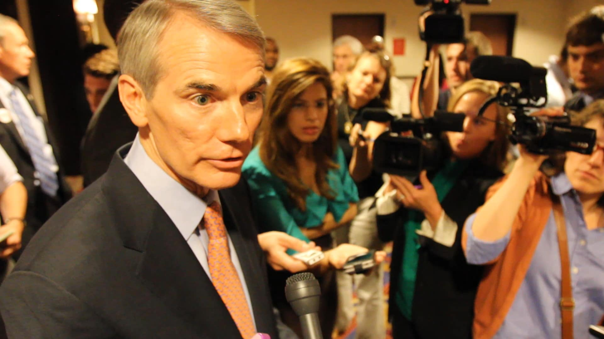 Senator Portman Confronted on NDAA Special Interest Money