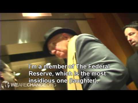 Paul Volcker Confronted on Bilderberg