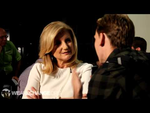 Arianna Huffington Confronted on Censoring Jesse Ventura 9/11 Article