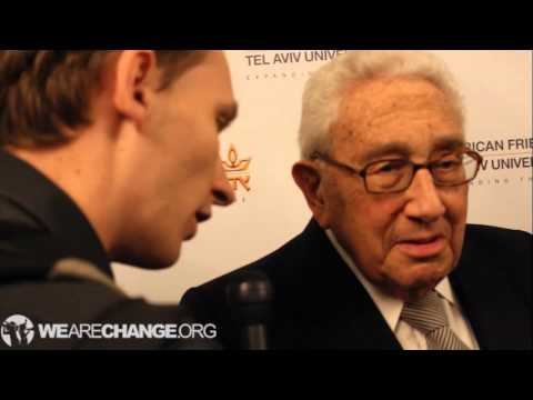 Henry Kissinger Confronted. Says Luke Rudkowski Is A Sick Person for Questioning Him on National Security Study Memorandum 200!