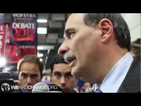 Obama Campaign Advisor David Axelrod Dodges NDAA and Kill List Questions