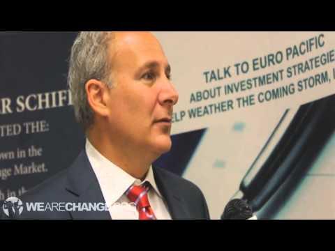 Peter Schiff Talks to WeAreChange Minnesota