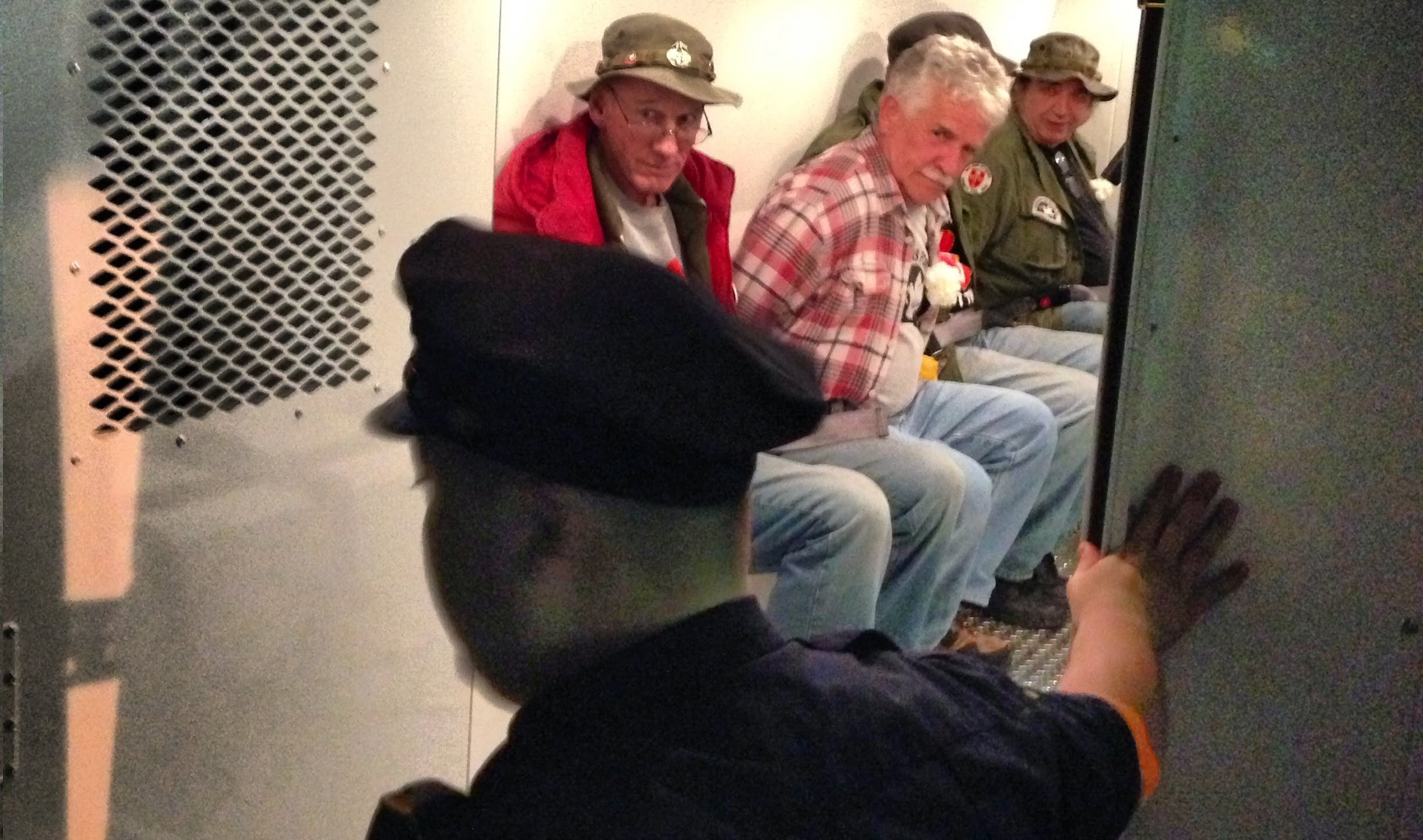 Veterans Arrested at Vietnam Memorial During their Vigil for Fallen Comrades