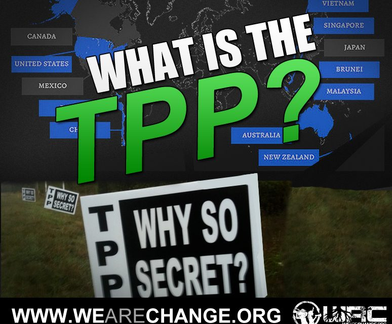 Immediate Activism Needed To Stop TPP