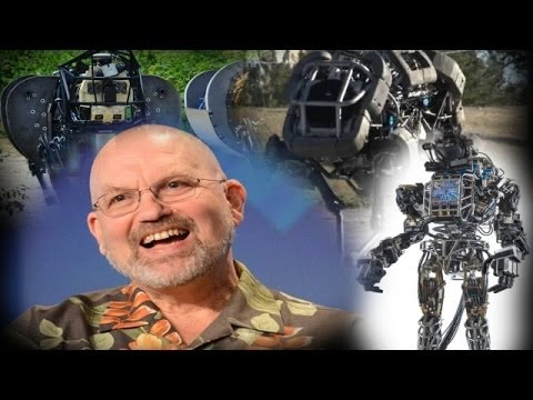 Creator of Creepy DARPA Robots Questioned On Military Funding & Google Purchase