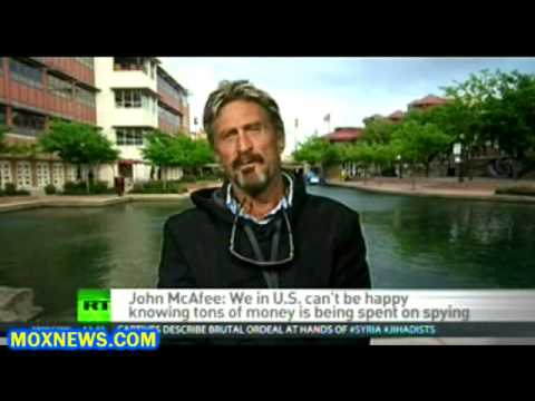 John McAfee Says He's Working On Software That Will Prevent NSA From Spying On Americans