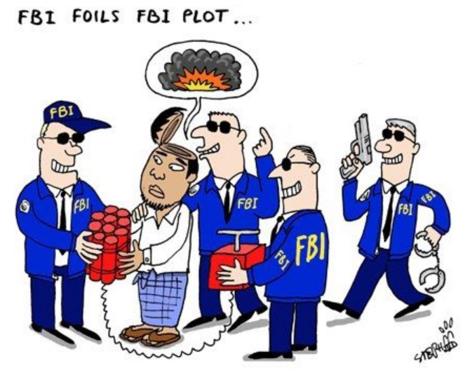 Terrorist Plots, Hatched by the F.B.I.
