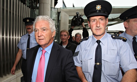 Ireland's bankers in the dock: Anglo Irish chiefs charged with illegally bolstering bank's share price