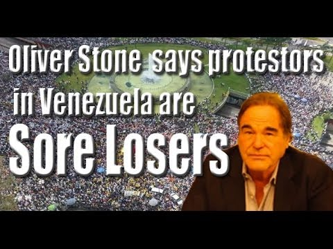 Oliver Stone on Government and Venezuela