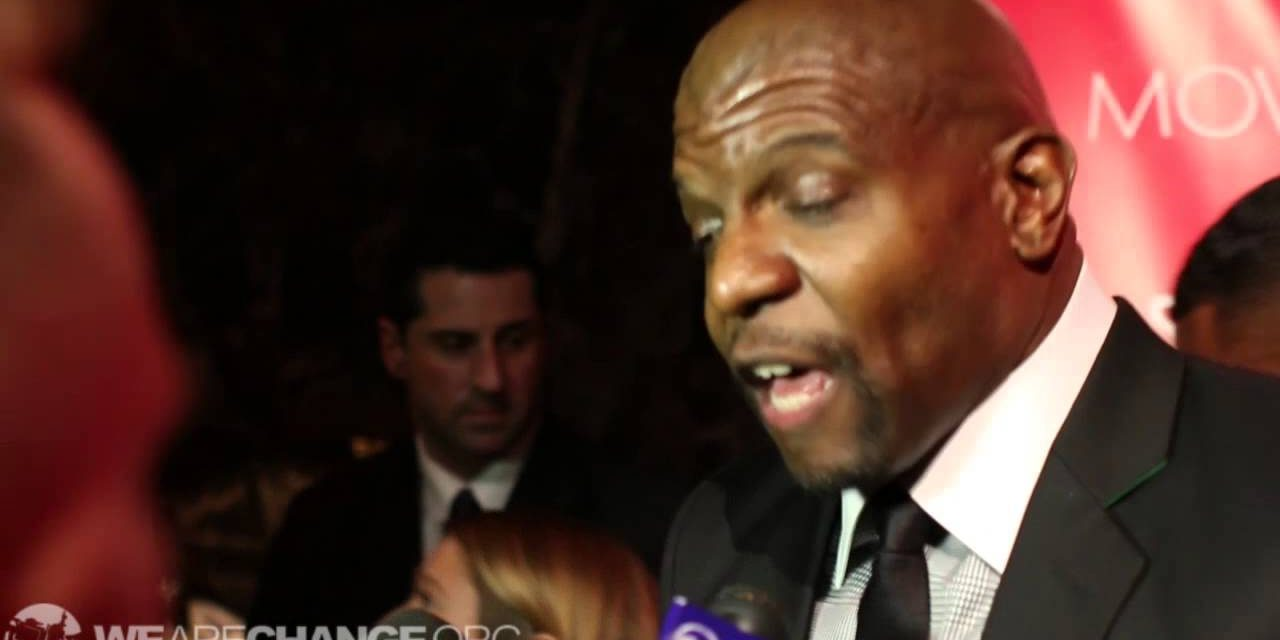 Terry Crews Gets Pissed Off at Luke Rudkowski