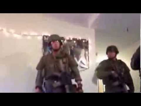 Swat Terrorize College Dorm Looking for Plastic Sword