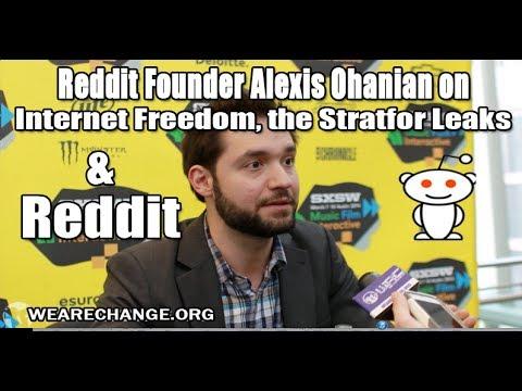 Reddit Founder on Stratfor Leaks and Internet Freedom