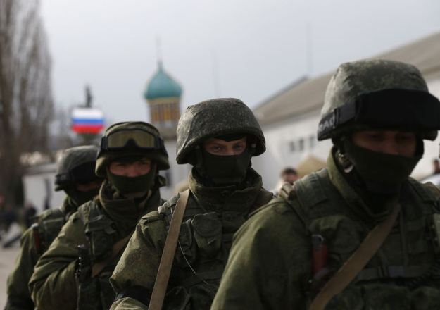 Russian marines airdrop in mainland Ukraine