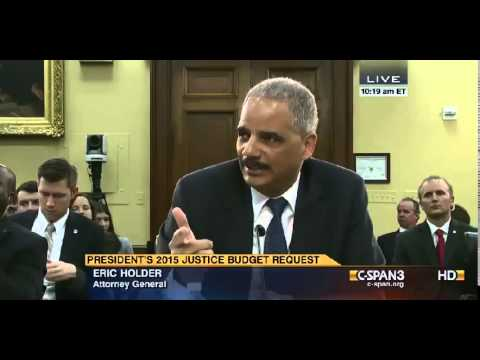 "Holder: DOJ Gun Control Efforts May Include ""Gun Tracking Bracelets"""