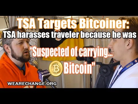 TSA Harasses Bitcoiner: Traveler Suspected of Carrying Bitcoin