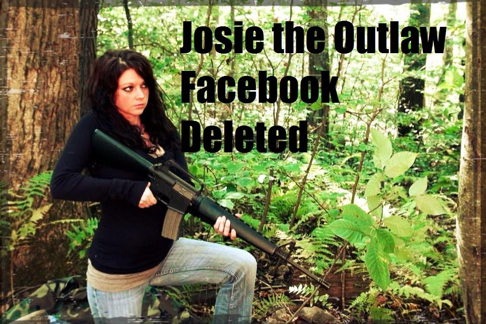 Josie The Outlaw's Facebook Page Deleted