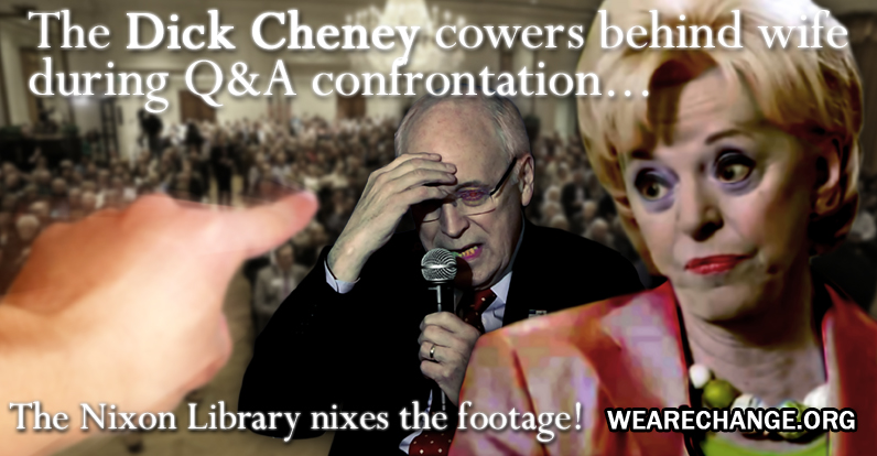 Nixon Foundation and Dick Cheney Attempt to Rewrite History Again