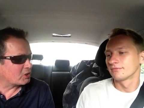 Chunky Mark, Artist Taxi Driver, Interviews Luke in London