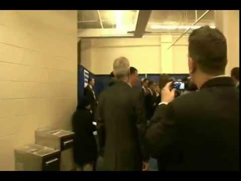 WeAreChange NEPA confront Donald Rumsfeld