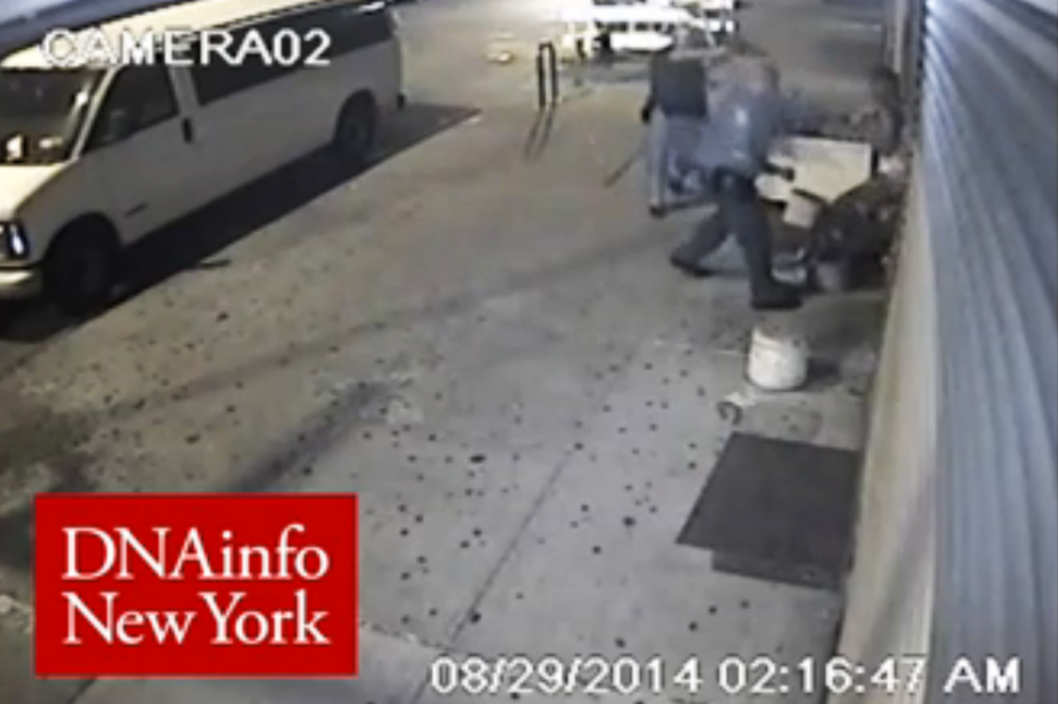 NYPD Officers Swing on 16-Year-Old With His Hands Raised, Then Hit Him in the Face With a Gun
