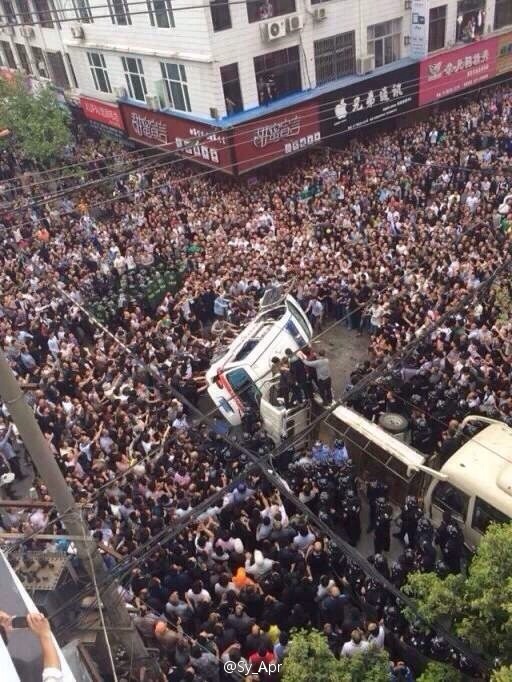 "China: ""Violent Government Thugs"" Beaten To Death By Angry Crowds After They Killed A Man Documenting Their Brutality"
