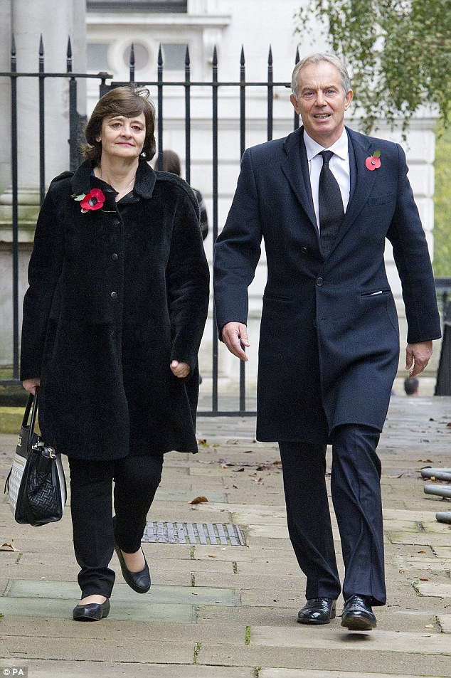 Blair signed secret contract with Saudi oil firm promising him £41,000 a month and a slice of any deals he helped broker