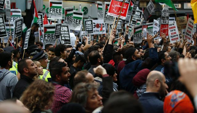 Thousands in London, Paris, and Oslo protest Israeli strikes in Gaza