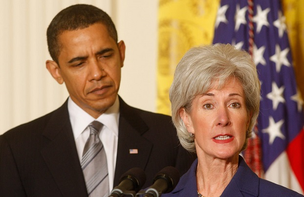 Sebelius' Parting Words: 'And Unfortunately, a Page Is Missing'