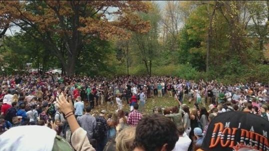 Riots erupt during Keene, N.H. pumpkin festival