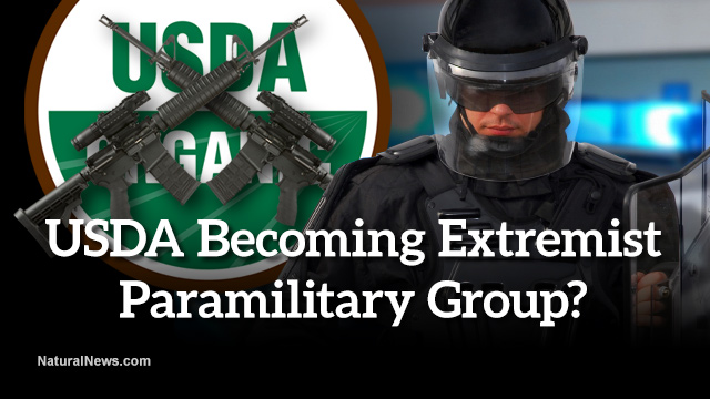 USDA fast becoming extremist paramilitary group with bid for ballistic body armor, trauma plates