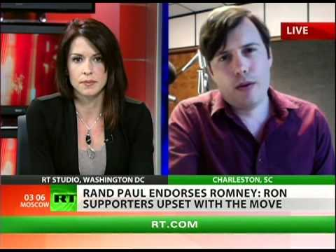 Abby on RT TV: Rand Paul's Endorsement of Mitt Romney