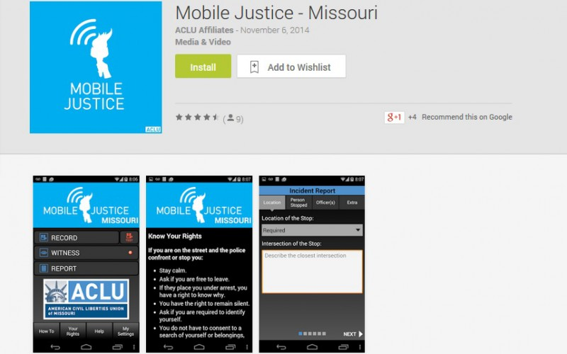 New app will enable people to send video of potential police violations to ACLU