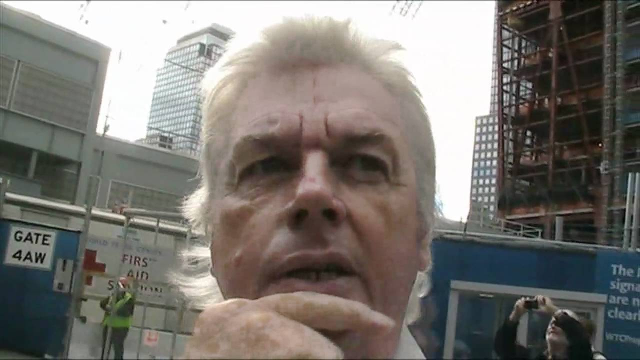 David Icke Meets Luke Rudkowski of We Are Change, in New York.