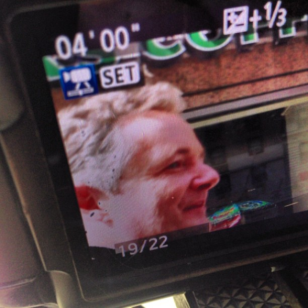 Just had a very interesting street conversation with Piers Morgan #wrc