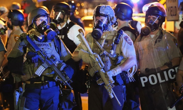 Ferguson police brace for new protests by spending thousands on riot gear