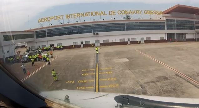 International Flights Still Operating From Conakry Airport Despite Ebola Risk