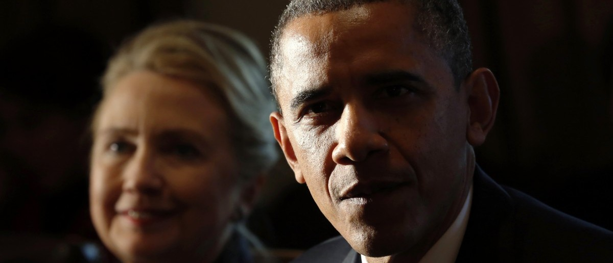 Obama And Hillary Hold Secret Meeting At The White House
