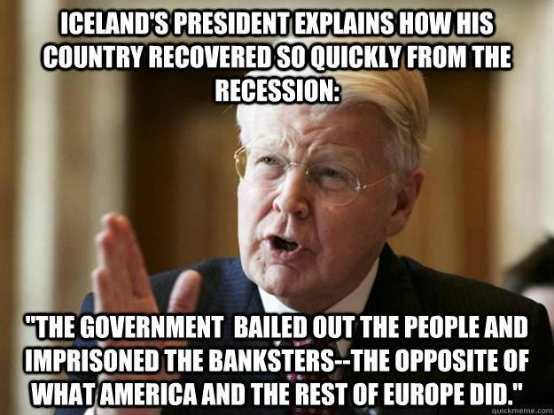 After the financial crises of 2008, the people of Iceland elected twenty-five non-political citizens to write a new constitution to free Iceland from the exaggerated power of international finance. The Icelanders could witness and comment on the constitution as it was being drafted online.