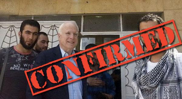 John McCain Met with ISIS