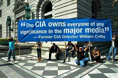 CIA routinely ghost writes propaganda which it forces US and European journalists to publish under their own names.