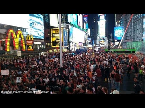 NYC start of protest for Mike Brown Ferguson