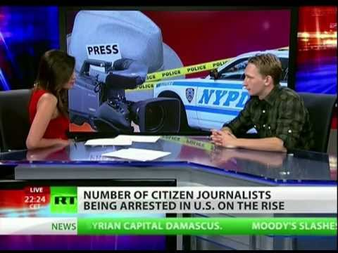 RT: Baton vs camera: Police open hunt for citizen journalists