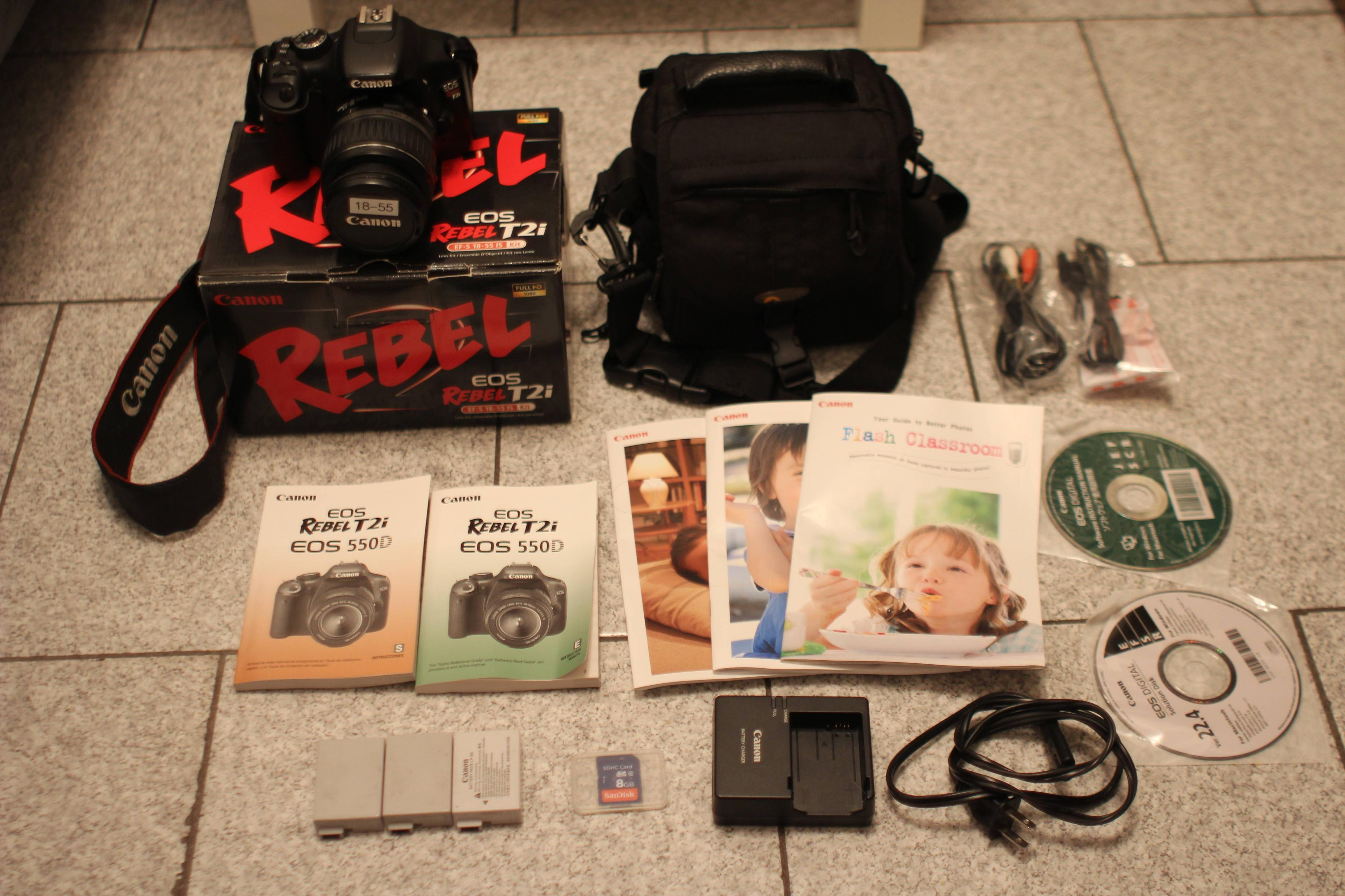 We're selling our Canon Rebel T2i, own a piece of WeAreChange history!