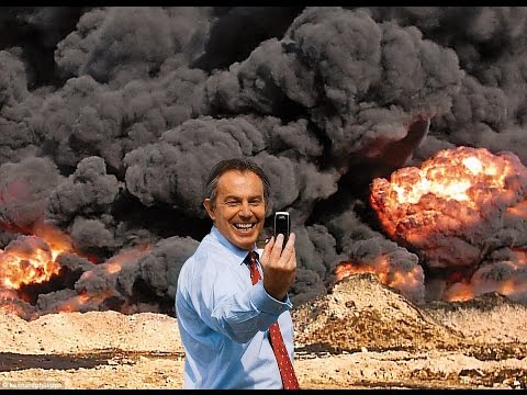 Tony Blair Caught Selling Oil for Saudi Arabia