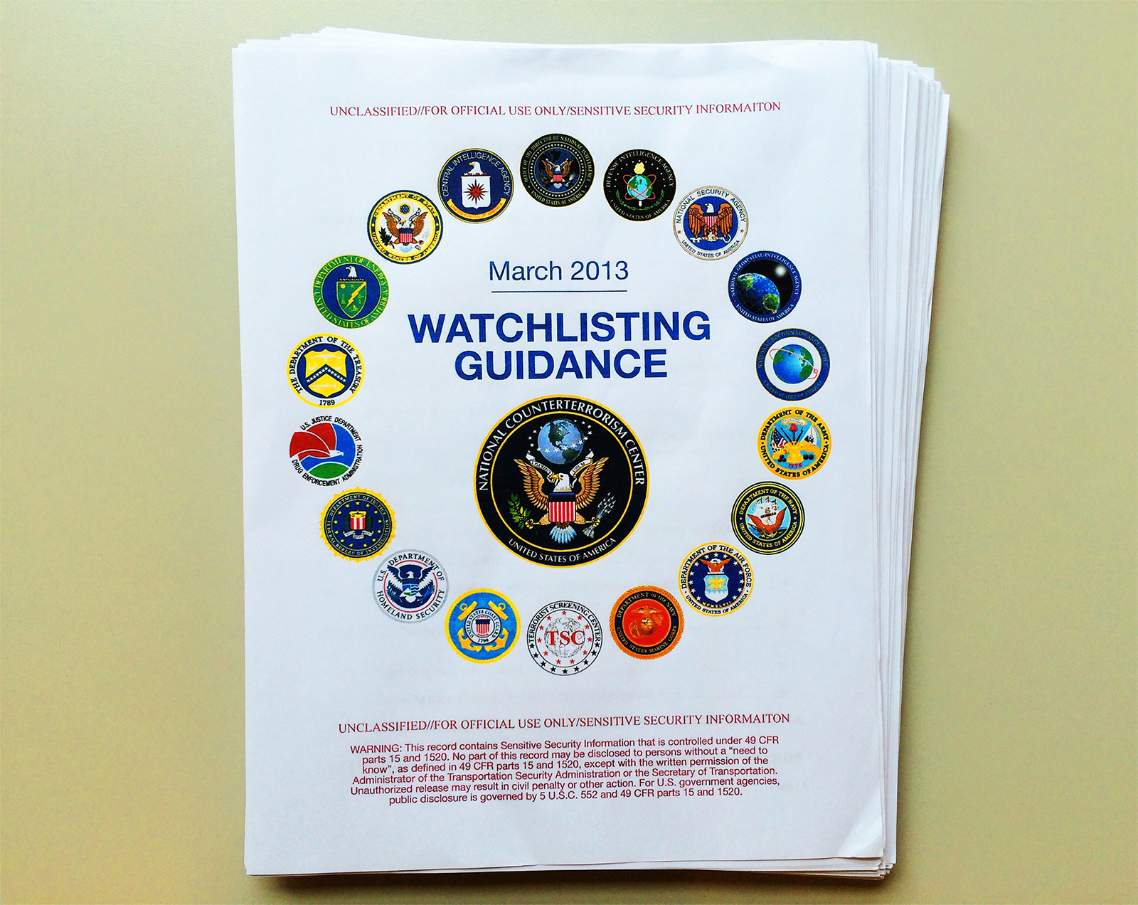 THE SECRET GOVERNMENT RULEBOOK FOR LABELING YOU A TERRORIST