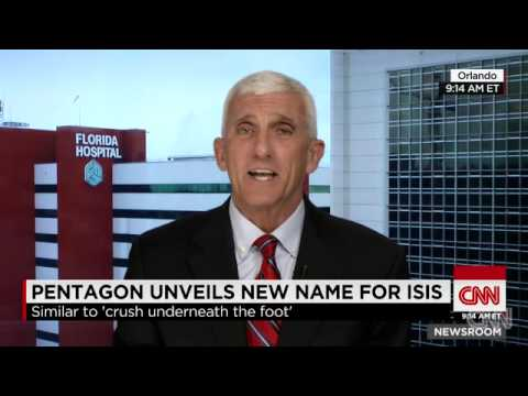 Pentagon Unveils New Name For ISIS, 25 Times In One Speech