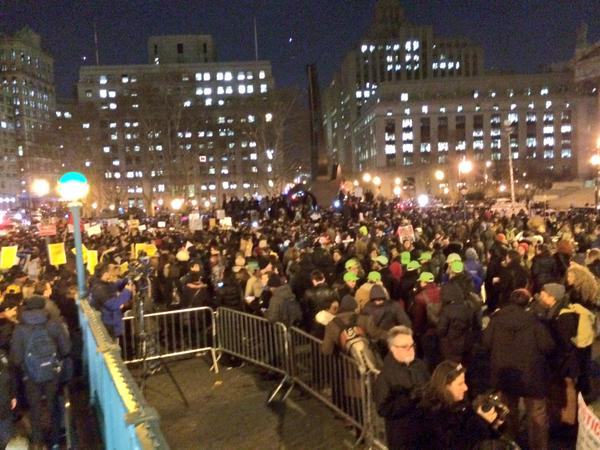 Original Photos and Video Coverage From 12/4 Eric Garner Protest in NYC