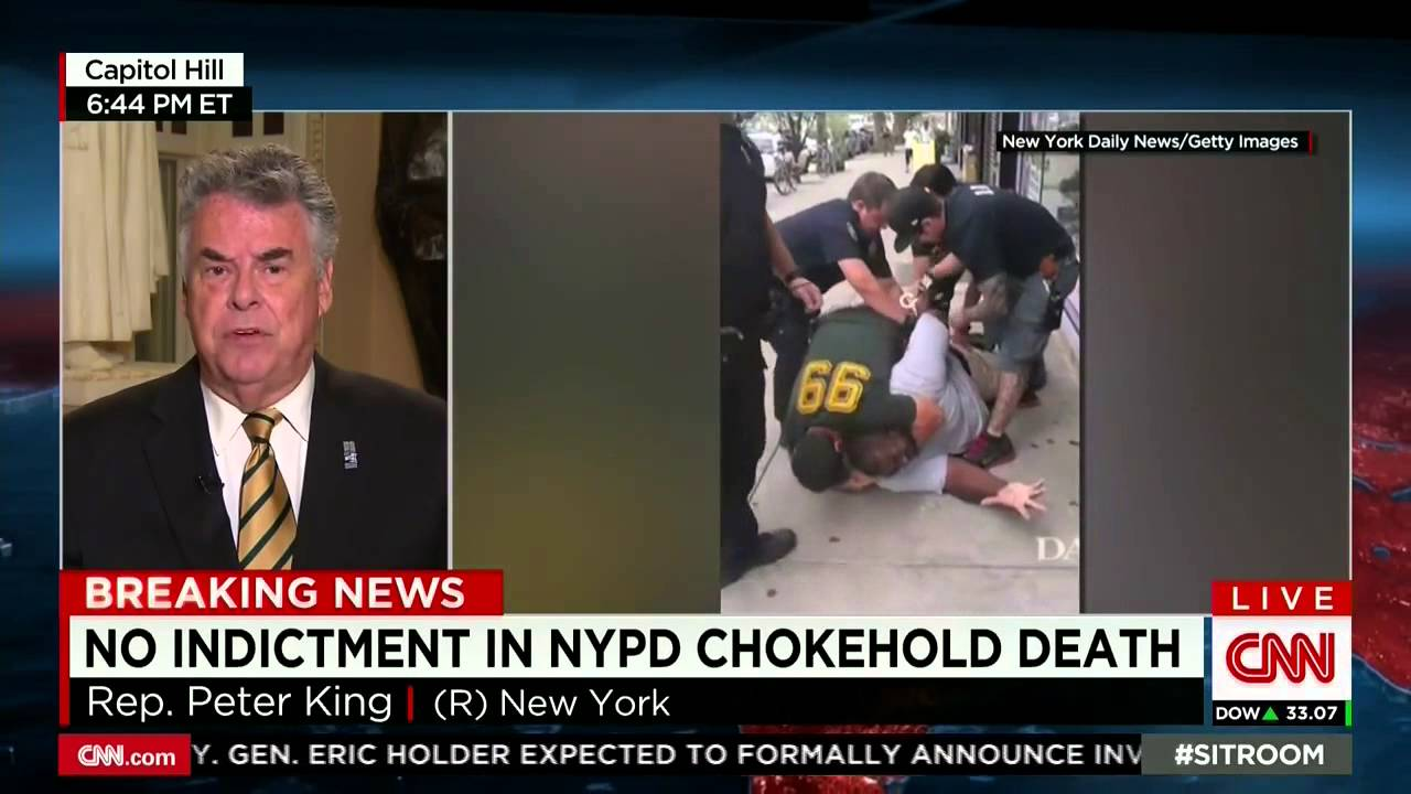 Congressman Says Eric Garner's Death is His Own Fault for Being Fat