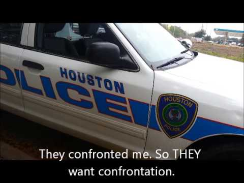 Cops Unlawfully Arrest Open carrier. They incorrectly use the ID law and try to Erase His Cell Phone