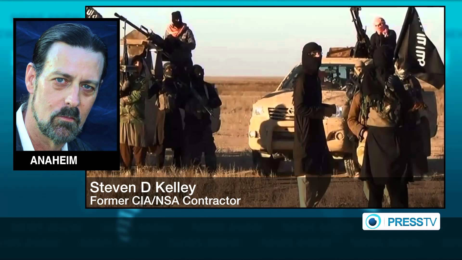"""ISIL completely fabricated enemy by USA"", former CIA contractor"